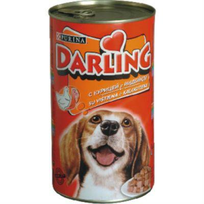 Консервы Darling для собак курица/индейка 1,2кг (упак. 12 шт) (12067970)