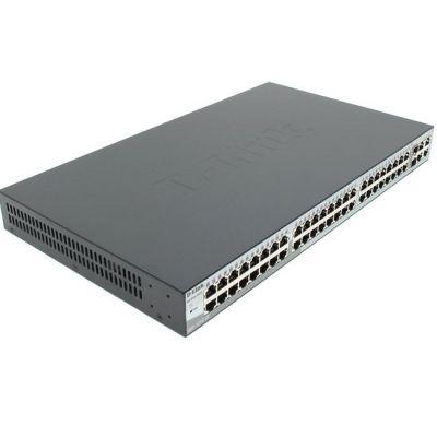 Коммутатор D-Link 48UTP 10 / 100Mbps + 2UTP 10 / 100 / 1000Mbps + 2Combo 1000BASE - T DES-1210-52/C1A