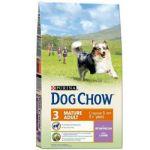 Сухой корм Dog Chow MATURE ADULT для собак старшего возраста ягненок 14кг (12260274)