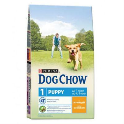 Сухой корм Dog Chow Puppy для щенков курица 2,5кг (12233246)