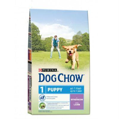 Сухой корм Dog Chow Puppy для щенков ягненок 2,5кг (12260305)