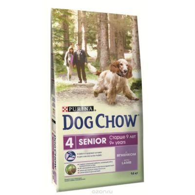 Сухой корм Dog Chow Senior для стареющих собак ягненок 2,5 кг (12260275)