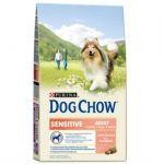 Сухой корм Dog Chow Sensitiv для собак с чувствительным пищеварением лосось 14 кг (12233227)