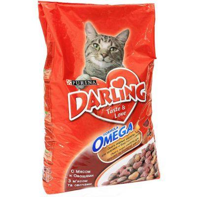 Сухой корм Darling для кошек мясо/овощи 10 кг (12047896)