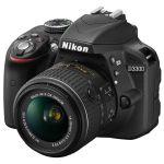 Зеркальный фотоаппарат Nikon D3300 (черный) VBA390K008
