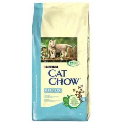 Сухой корм Cat Chow Kitten для котят 15кг (12118695)