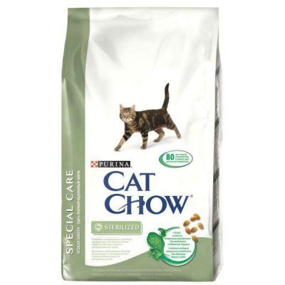 Сухой корм Cat Chow Special care для кастрированных котов и стерилизованных кошек 2кг (12191736)