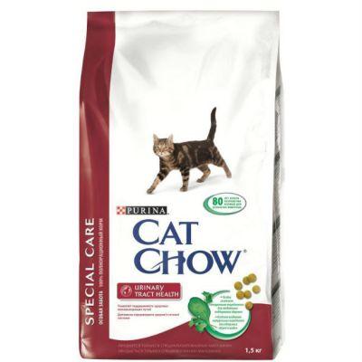 Сухой корм Cat Chow Special care для кошек для профилактики мочекаменной болезни 1,5кг (12123731)