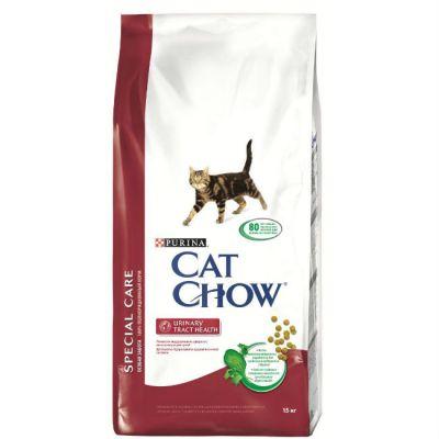 Сухой корм Cat Chow Special care для кошек для профилактики мочекаменной болезни 15 кг (12147059)