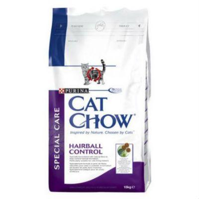 Сухой корм Cat Chow Special Сare для кошек Профилактика образования комков шерсти 15кг (12147110)