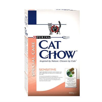 ����� ���� Cat Chow SENSITIVE ��� ����� 400� (12267406)