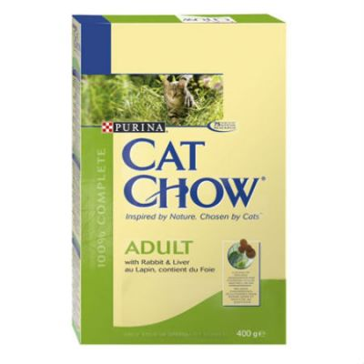 ����� ���� Cat Chow ADULT ��� �������� ����� ������/������ 400� (12267387)