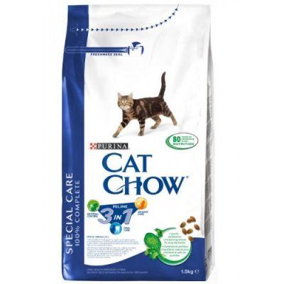 Сухой корм Cat Chow FELINE для кошек 3в1 1.5кг (12212308)