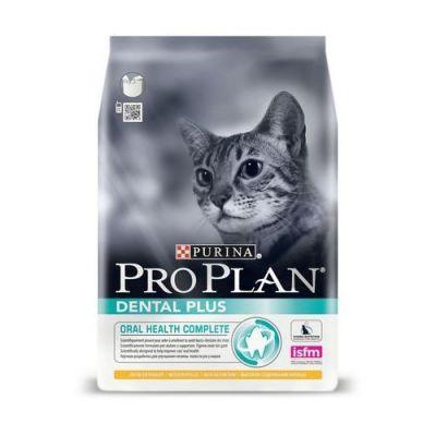 Сухой корм Proplan Dental Plus для кошек курица 400г (12229450)