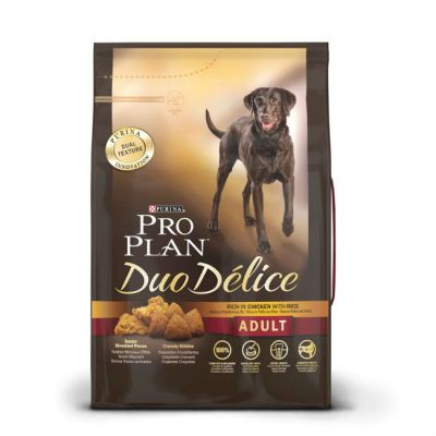 Сухой корм Proplan DUO DELICE для взрослых собак Курица/Рис 2.5кг (12176334)
