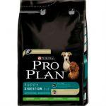 Сухой корм Proplan PUPPY для щенков с чувствительным пищеварением ягненок 14 кг (12150494)