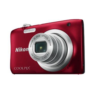 Компактный фотоаппарат Nikon CoolPix A100 (красный) VNA972E1