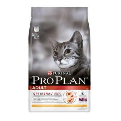 Сухой корм Proplan для взрослых кошек лосось/рис 1,5 кг (12172062)