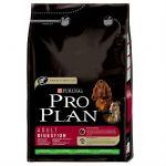 Сухой корм Proplan Adult для собак с чувствительным пищеварением ягненок 3кг (12150339)