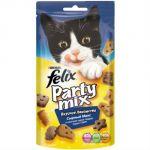Сухой корм Felix для кошек Party Mix Сырный Микс 60г (упак. 8 шт) (12234070)