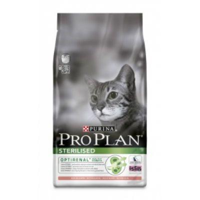 Сухой корм Proplan для кастрированных котов лосось/рис 1,5 кг (12171884)