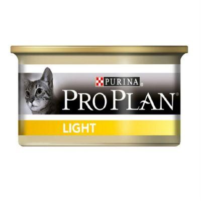 Консервы Proplan Light для кошек Индейка 85г (упак. 24 шт) (12065874)