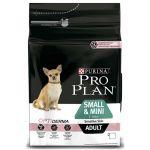 Сухой корм Proplan для взрослых собак мелких пород с чувствительной кожей лосось 3кг (12272215)