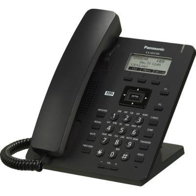 Телефон Panasonic IP Black KX-HDV100RUB