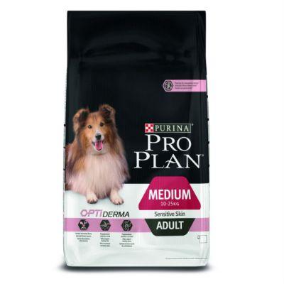 Сухой корм Proplan для взрослых собак средних пород чувствительная кожа лосось 18кг (12272463)