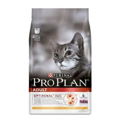 Сухой корм Proplan для взрослых кошек курица/рис 3 кг (5120624)