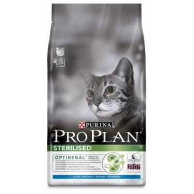 Сухой корм Proplan для кастрированных котов и стерилизованных кошек курица/кролик 1,5 кг (12171883)