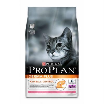 Сухой корм Proplan для взрослых кошек с чувствительной кожей с лососем 400 г (12172082)