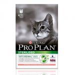 Сухой корм Proplan для кошек кастрированных/стерилизованных лосось/рис 400 г (12171693)