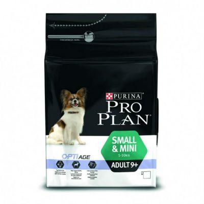 Сухой корм Proplan для взрослых собак старше 9лет мелких пород курица/рис 700г (12272470)