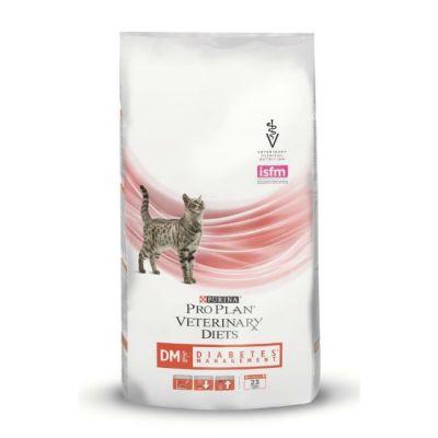 Сухой корм Purina FELINE DM Корм для кошек сухой при сахарном диабете пакет 1,5кг (12274497)