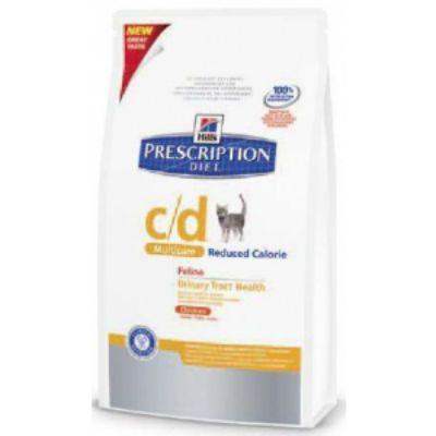 Сухой корм Hills c/d для кошек (профилактика МКБ) 1,5кг (1067M)