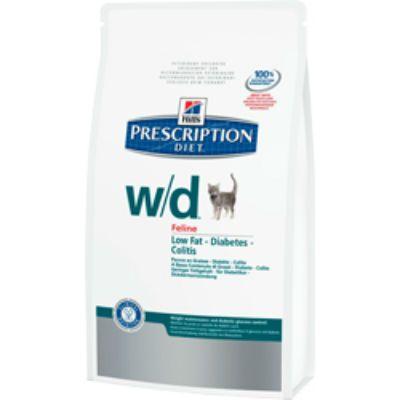 Сухой корм Hills w/d для кошек (поддерж. веса, лечение диабета) 300г (5488GA)
