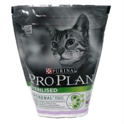 Сухой корм Proplan для стерилизованных кошек индейка 400г (12171695)