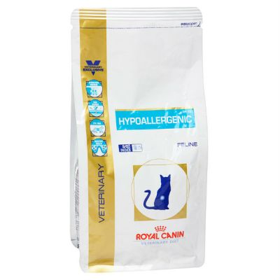 Сухой корм Royal Canin Hypoallergenic DR25 для кошек гипоаллергенный при мочекаменной болезни 2,5кг