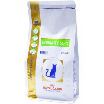Сухой корм Royal Canin Urinary Feline S/O LP 34 для кошек при мочекаменной болезни 1,5кг