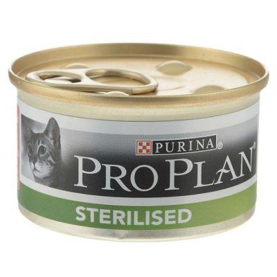 �������� Proplan STERILISED ��� ��������������� ����� � �������������� ����� � ������/������� � ����� 85� (����. 12 ��) (12281967)