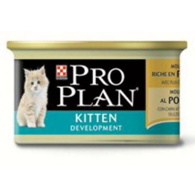 Консервы Proplan Kitten для котят курица/печень 85г (упак. 24 шт) (12171997)