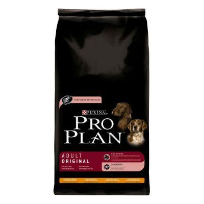 Сухой корм Proplan для взрослых собак средних пород курица/рис 14кг (12272439)