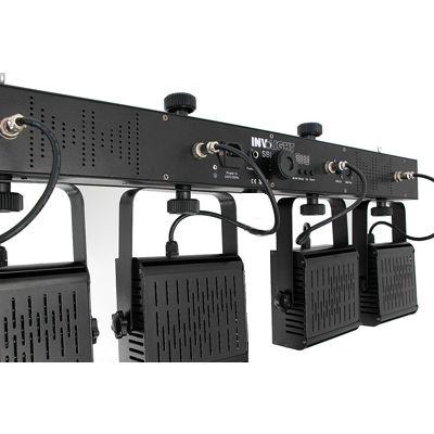Involight 4хLEDPAR (6 шт. RGB 9 Вт мультичип ) DMX-512 (без стойки) SBL3000