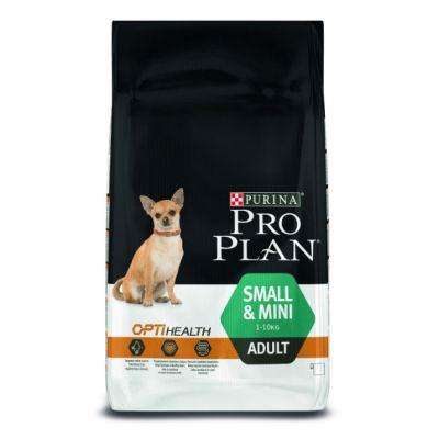 Сухой корм Proplan для взрослых собак мелких и карликовых пород курица/рис 7кг (12272582)