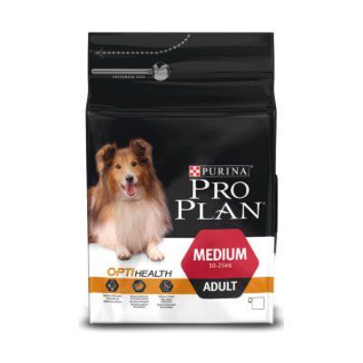 Сухой корм Proplan для взрослых собак средних пород курица/рис 18кг (12272464)