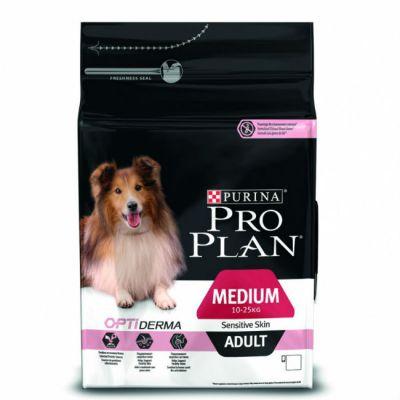 Сухой корм Proplan для взрослых собак с чувствительным пищеварением лосось/рис 3кг (12150381)