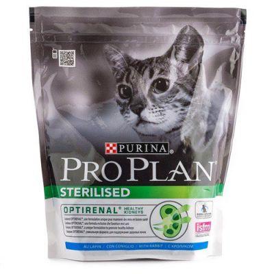Сухой корм Proplan для кастрированных котов и стерилизованных кошек курица/кролик 400 г (12171546)