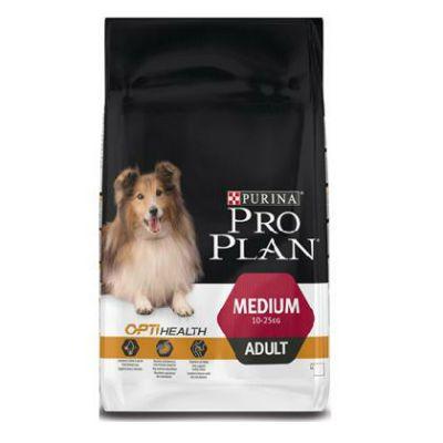 Сухой корм Proplan для средних взрослых собак курица 1,5кг (12272385)