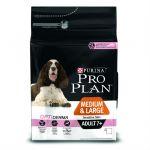 Сухой корм Proplan для собак средних и больших пород старше 7 лет с чувствительной кожей лосось/рис 3кг (12272683)
